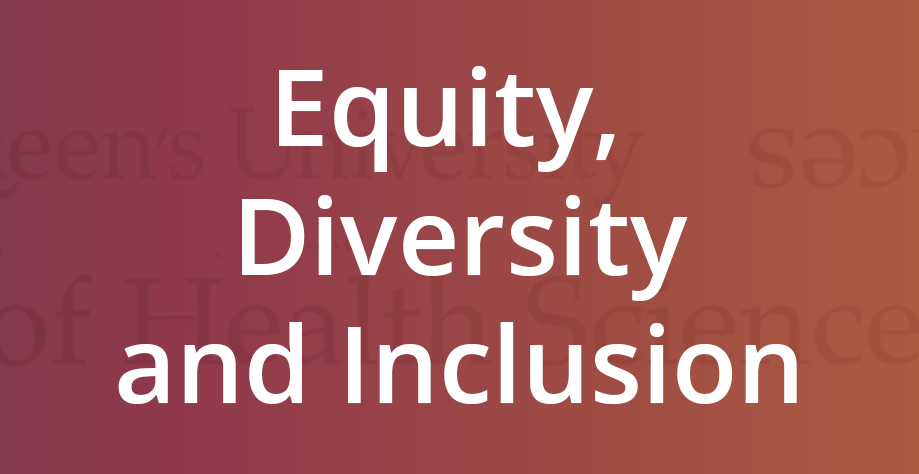 The Faculty of Health Sciences Equity, Diversity and Inclusion Fund