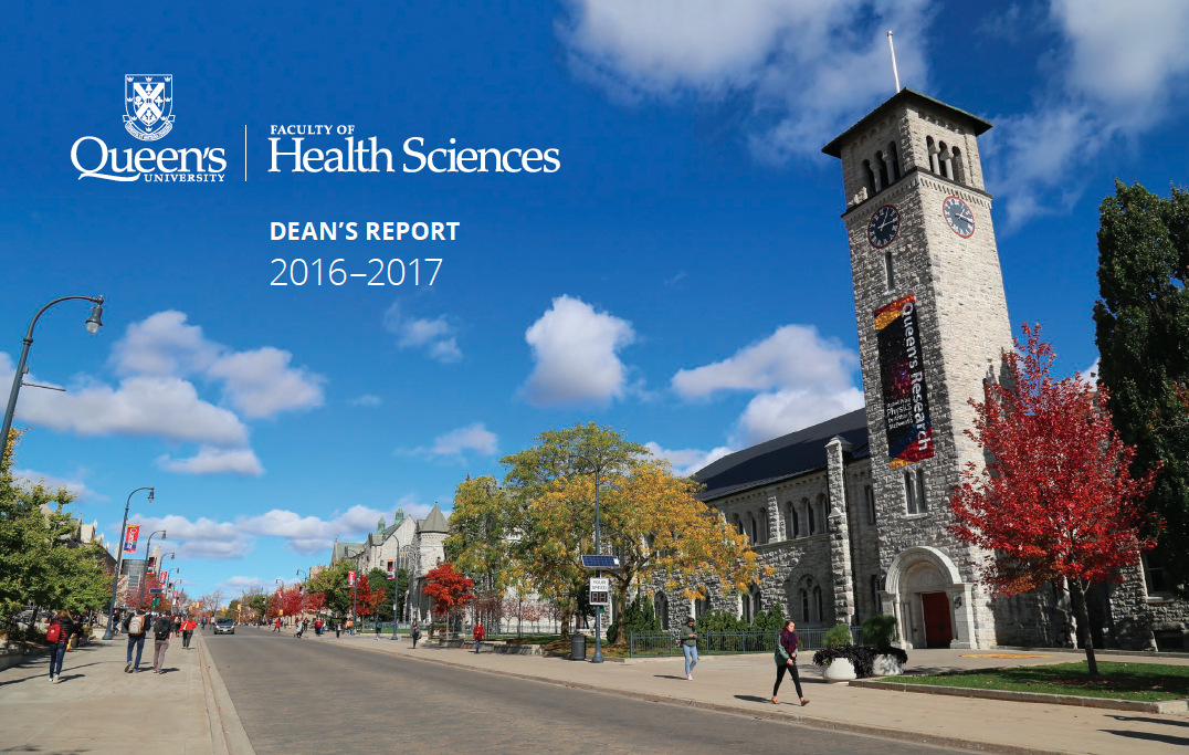 Dean's Report : Faculty of Health Sciences 2016-2017