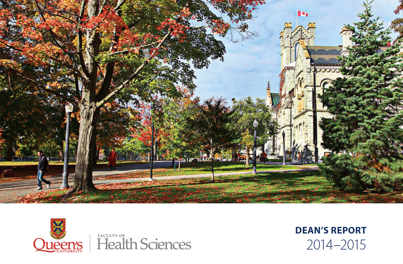 Dean's Report : Faculty of Health Sciences 2014-2015