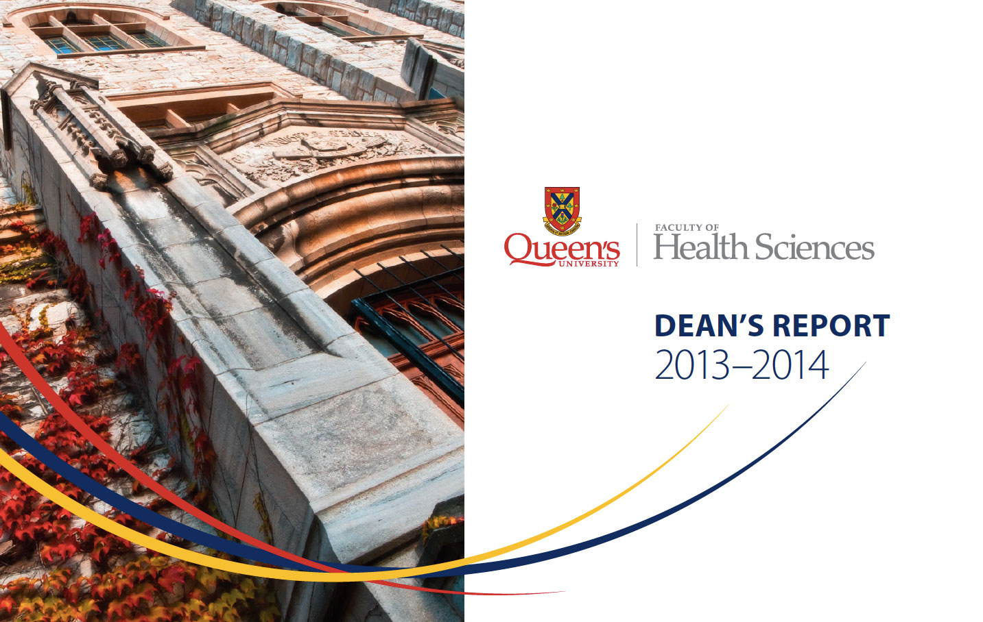 Dean's Report : Faculty of Health Sciences 2013-2014