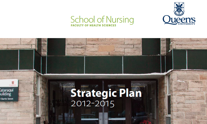 School of Nursing - Strategic Plan 2012-2015