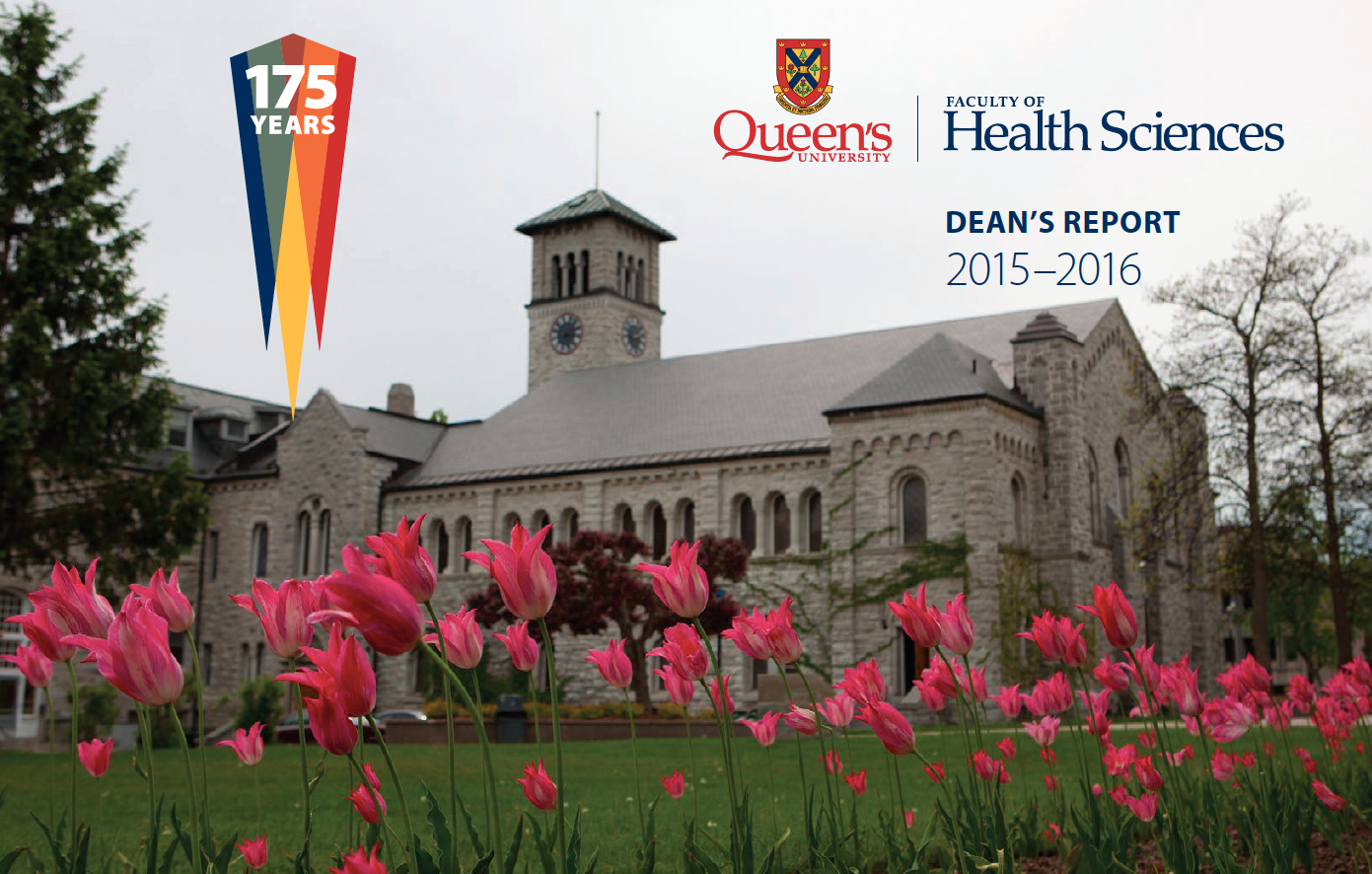 Dean's Report : Faculty of Health Sciences 2015-2016