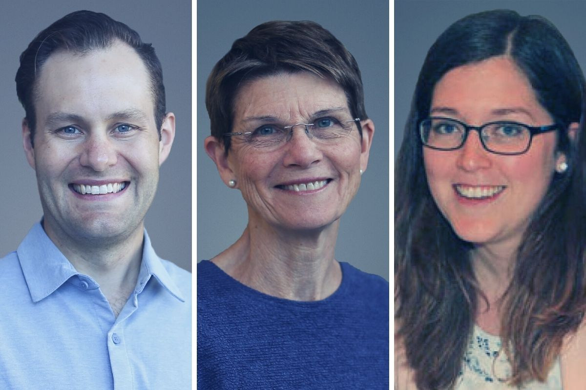 Drs. Colin Bell, Hailey Hobbs and Susan Moffatt are 2020 recipients of Faculty of Health Sciences Awards