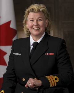 Canadian military honours the dedication of Dr. Alice Aiken