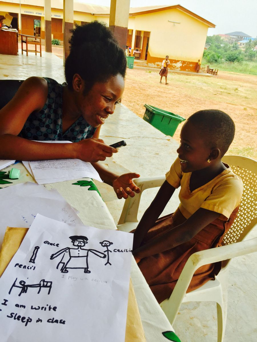 Rehabilitating Education - Meet Christiana Asantewaa Okyere