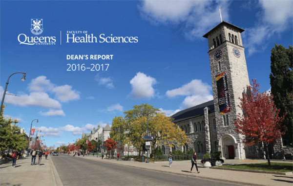 2016-17 Dean's Report Cover