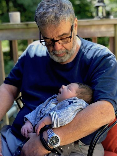 Richard with Baby Saul