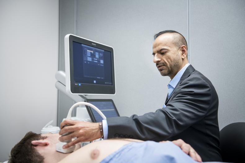 Shades of grey: Ultrasound imaging of neck arteries helps identify risk of heart attack or stroke, research shows