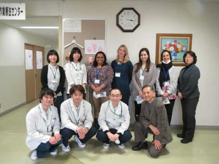 Reading week in Japan: A cultural and clinical exchange for rehab therapy students