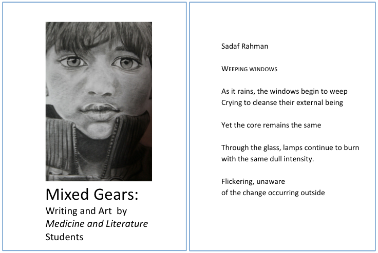 Mixed Gears: Writing and Art by Medicine and Literature Students