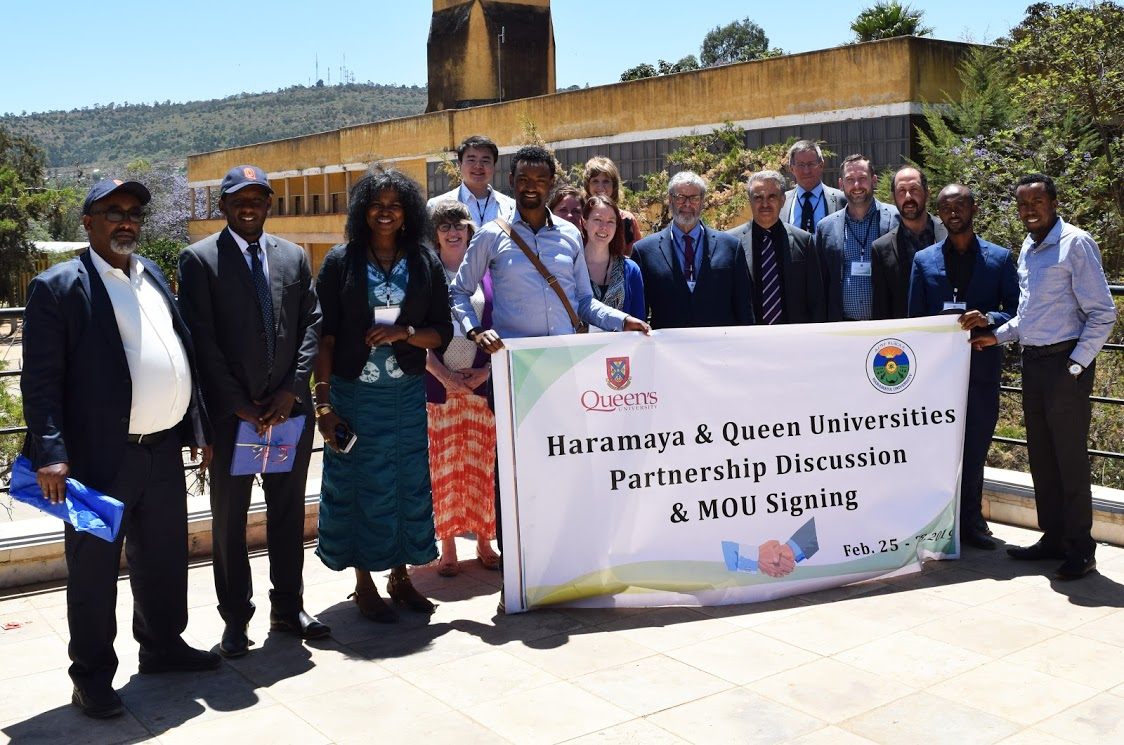 Queen's and Haramaya University partnership