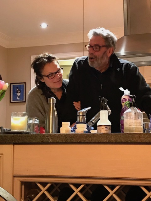 Cooking together on sabbatical (administrative leave)