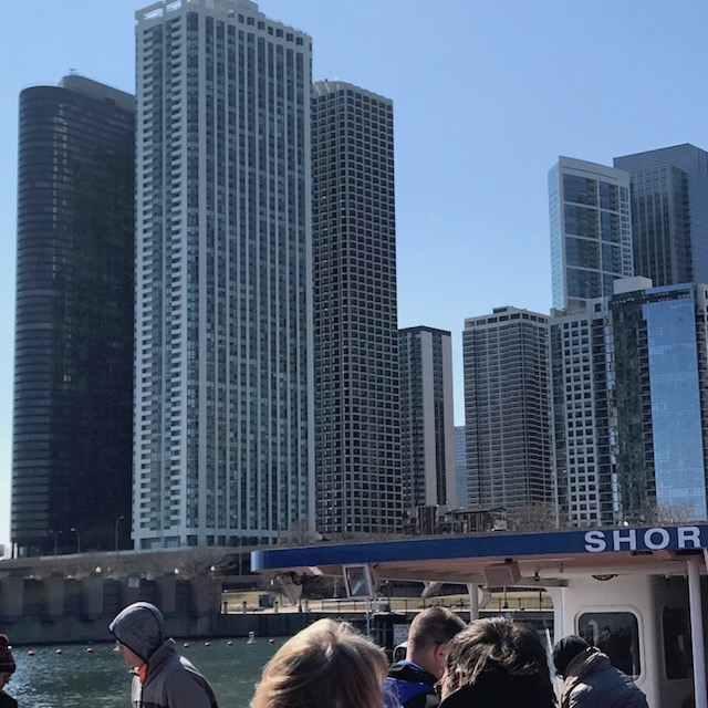 Picture of Chicago: taken on an architectural boat cruise