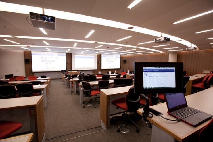Class room in the School of Medicine