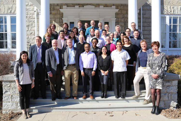 The participants in the EPA course
