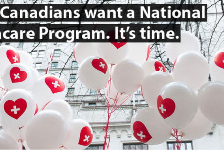 91% Canadians want a national pharmacare program